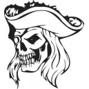 Pirate T-Shirt Captain