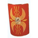 Roman Scutum Shield Red