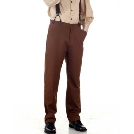 Steampunk Classic Pants-Brown