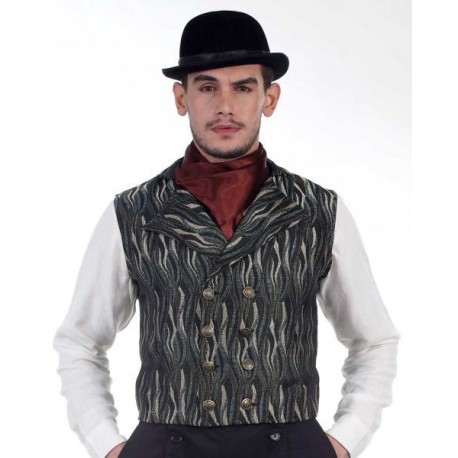Double Breasted Steampunk Vest