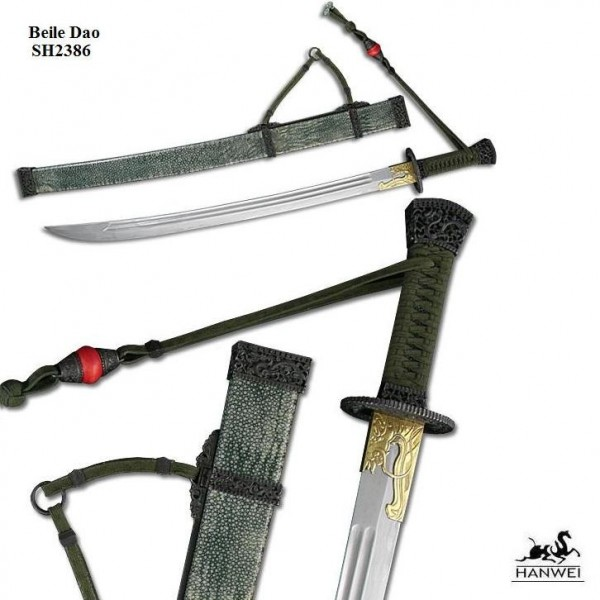 Beile Dao-Chinese Damascus Sword