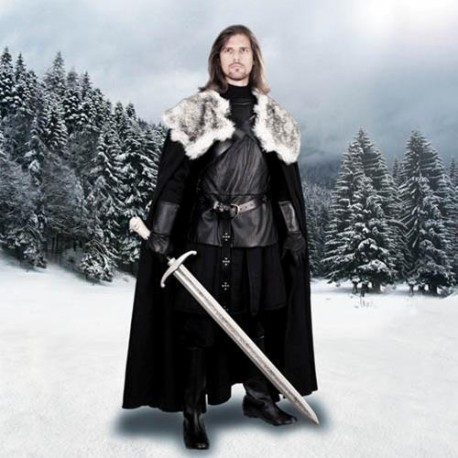 Jon Snow Night's Watch Cape