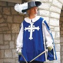 Musketeer Tabard Blue
