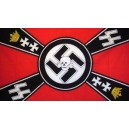 Waffen SS Death Head Flag
