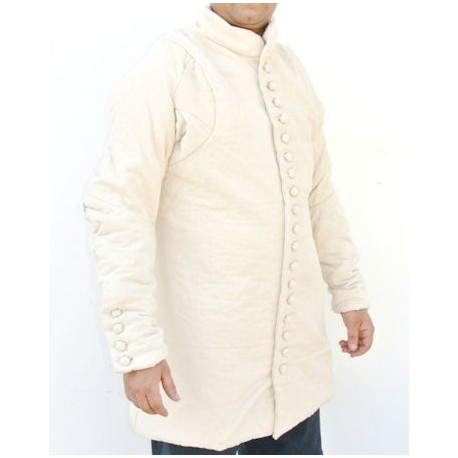 Medieval Gambeson White
