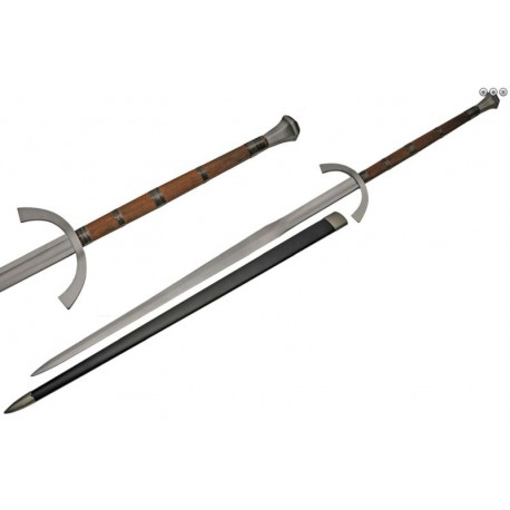 """62"""" Medieval Two Handed Sword"""